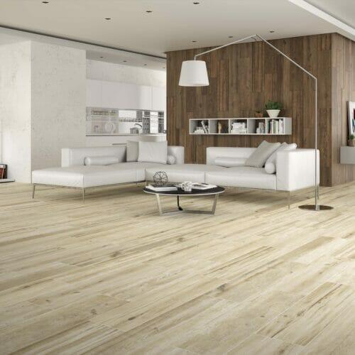 Acadia wood effect tiles