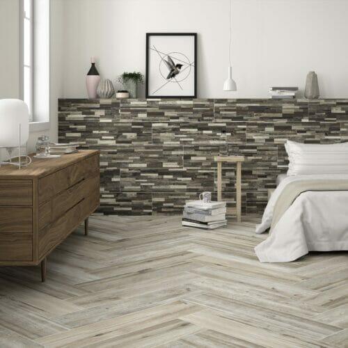 Acadia wooden tiles