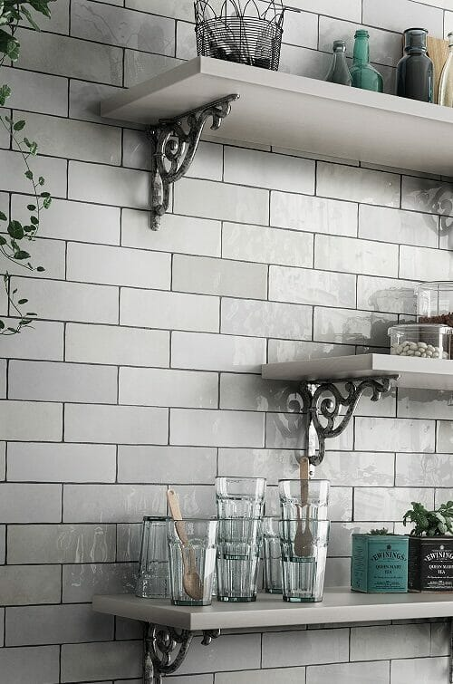 Camden kitchen tile collection