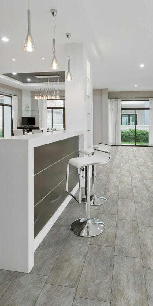 Chamonix modern kitchen tiles