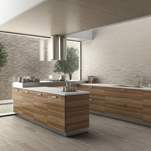 Denver Taupe Kitchen Tiles