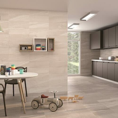 Murcia tiles in the kitchen