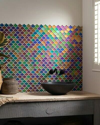 Original Style mosaic colourful tile