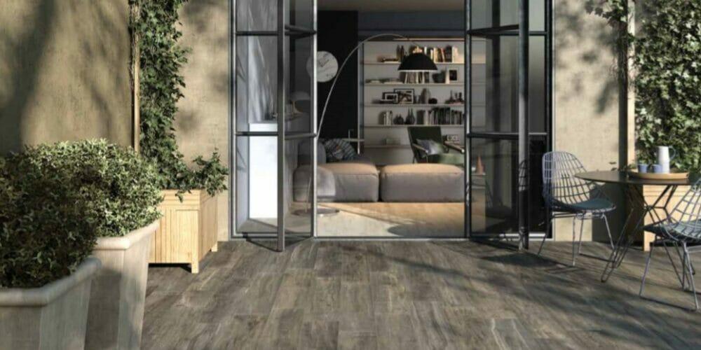 Westwood wood effect tiles