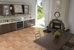 Cotto floor tiles for the kitchen